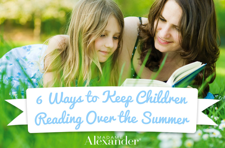 6 Ways to Keep Kids Reading Over the Summer