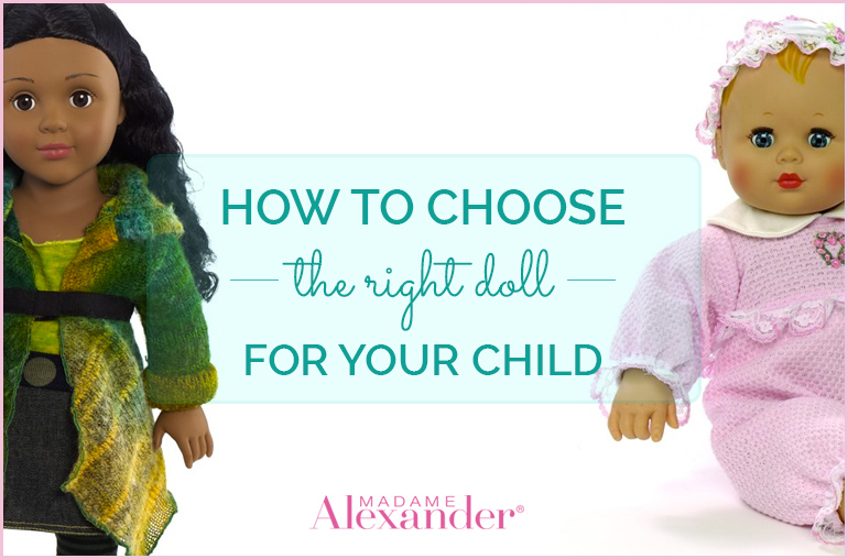 How to choose the right doll for your child