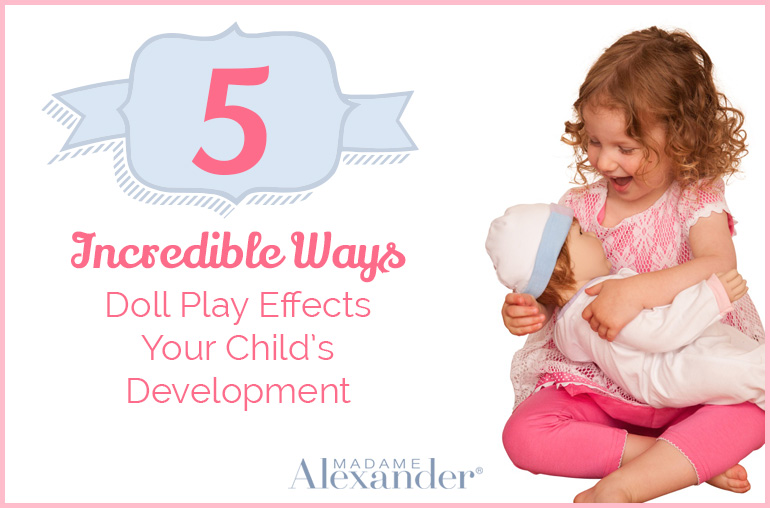 How doll play effects child development