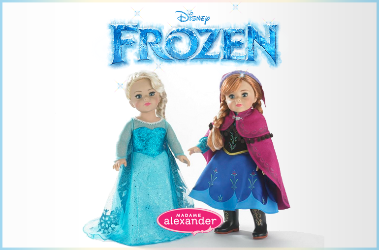 Announcing all-new Disney Frozen Dolls by Madame Alexander