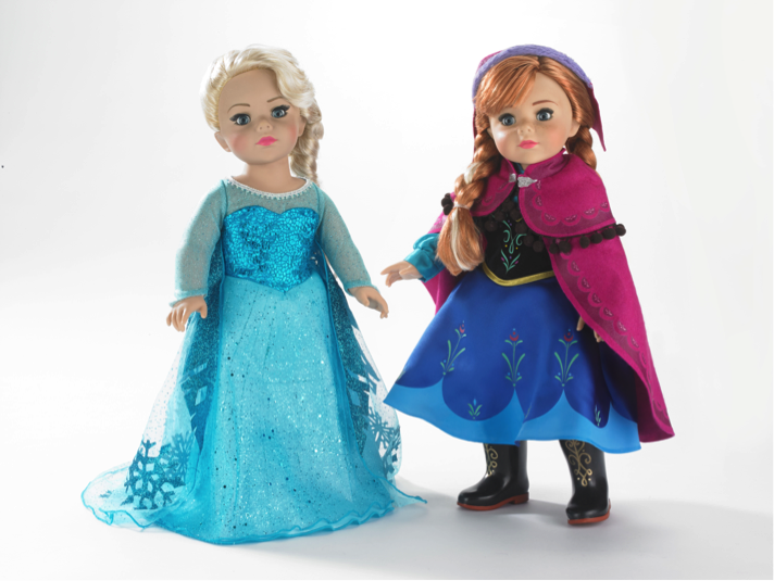 Frozen 18 inch play collection dolls
