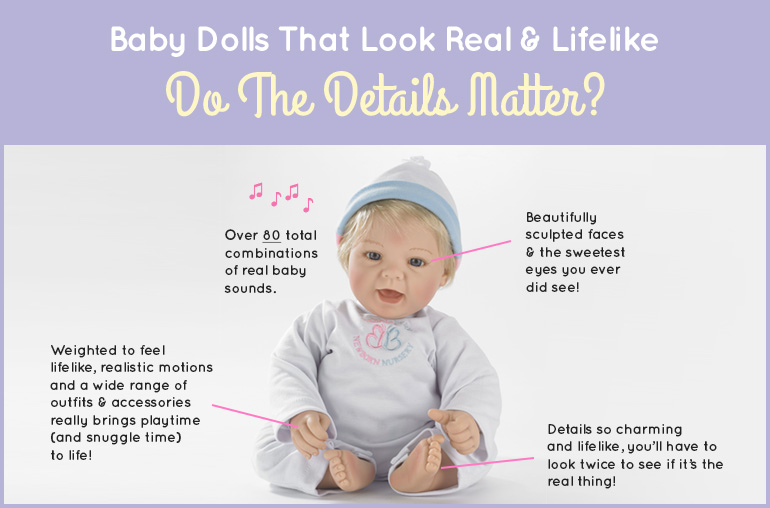 Baby Dolls That Looks Real And Lifelike